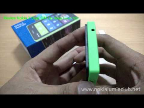 Review Body: รีวิวตัวเครื่อง Nokia X Dual SIM Part 2