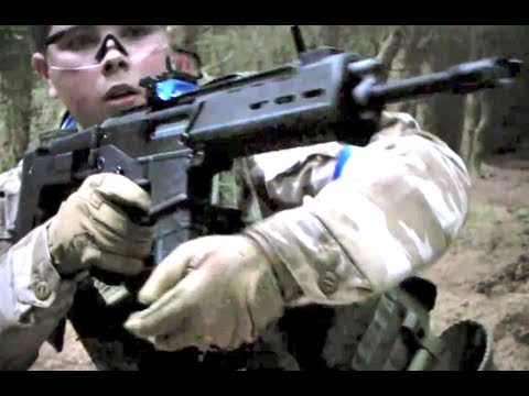 Airsoft War L96. ICS Galil. Masada Section8 Scotland HD