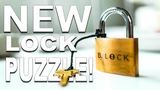 This LOCK is NOT What it Seems!! - Solving the CHALLENGING Lock Puzzle!