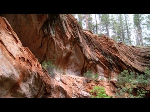 West Fork Oak Creek Canyon, Arizona RV Camping Scenic Picture Tour