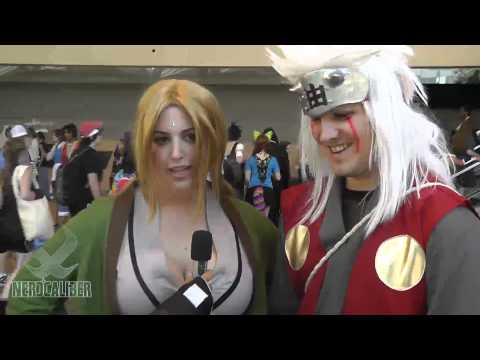 Tsunade and Jiraiya - Naruto Cosplay - Otakon 2012