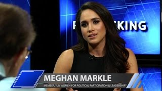 'Suits' Star Meghan Markle Discusses Her Advocacy for U.N. Women