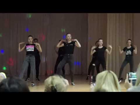 Танец от 8-9 классов. Школа №5