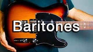 How to Play Ambient Guitar #18 - Baritone Guitar Basics (Tips and Tricks)