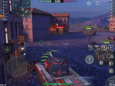 World of Tanks Blitz - Defending on Vineyards