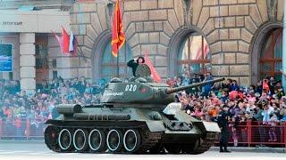Victory parade may 9, 2017 in Volgograd (Stalingrad).