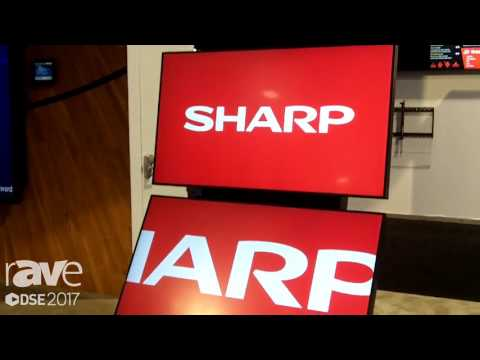 DSE 2017: Sharp Showcases PN-R Display Series Overview