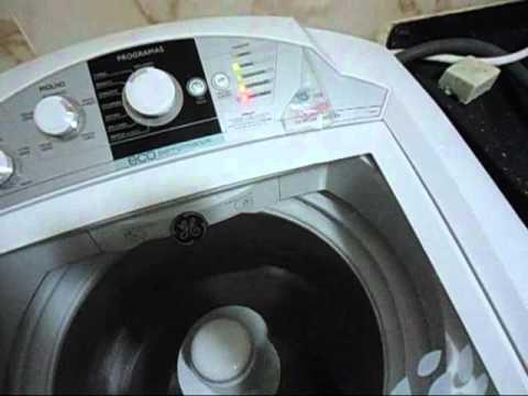 Máquina de Lavar GE 15kg Eco Perfomace com Defeito 2ª Parte