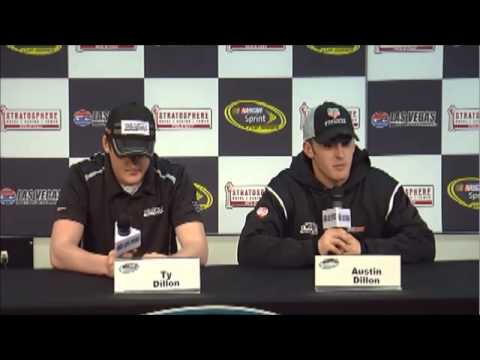 Austin & Ty Dillon Las Vegas NASCAR Video News Conference