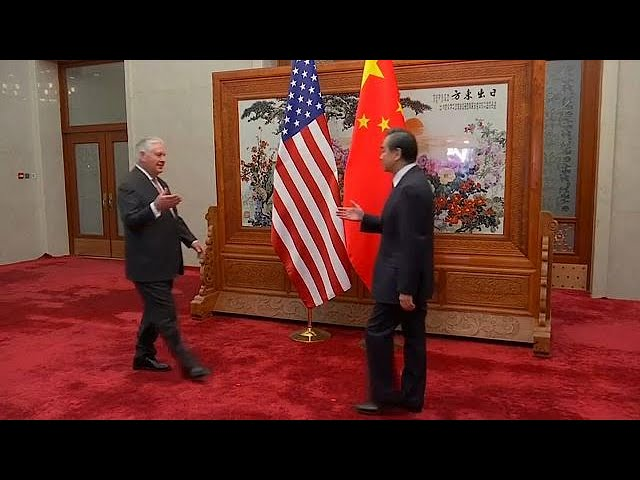 Rex Tillerson in China for top-level talks on North Korea