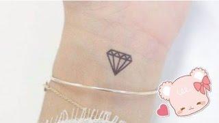 CÁCH VẼ XĂM GIẢ BẰNG BÚT BI (Kim cương) ❤ HOW TO MAKE FAKE TATTOO / Diamond