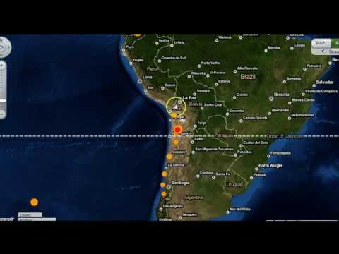 6.0 Earthquake Strikes Chile      3/28/15
