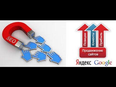 Организация рекламной и PR компании. SEO продвижение сайта