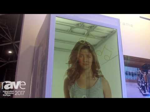 ISE 2017: E-LIKE Technology Details Crystal Frame Transparent Screen