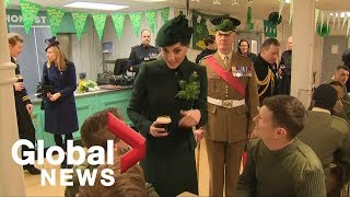 Kate Middleton, Prince William celebrate St. Patrick's Day