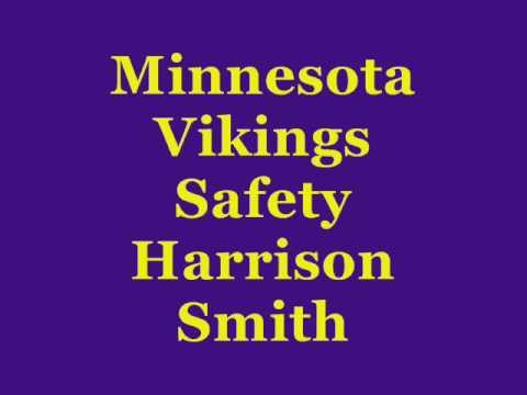 Vikings Safety Harrison Smith