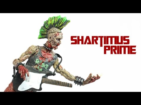 The Walking Dead Punk Rock Zombie Comic Series 3 McFarlane Toys Action Figure Review