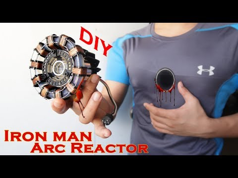 Download Iron Man ARC REACTOR - STUNNING Hand Craft DIY Using the most Basic materials Mp4 baru