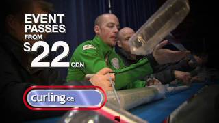 Kevin Koe invites you to the 2012 Tim Hortons Brier