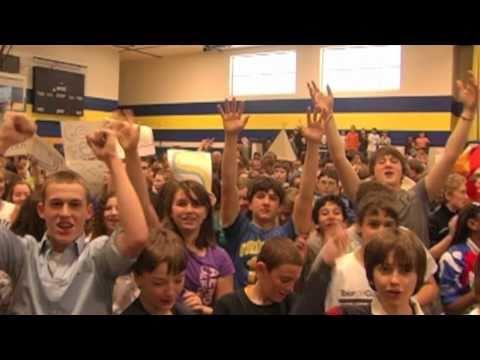"""Queensbury Middle School - Lipdub """"Dynamite"""""""