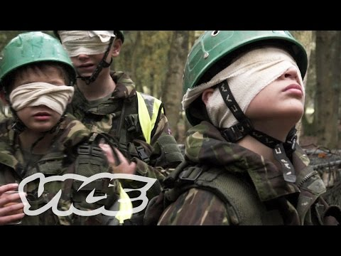 Training UK's Teenage Cadets for Combat: Rule Britannia (Part 1)