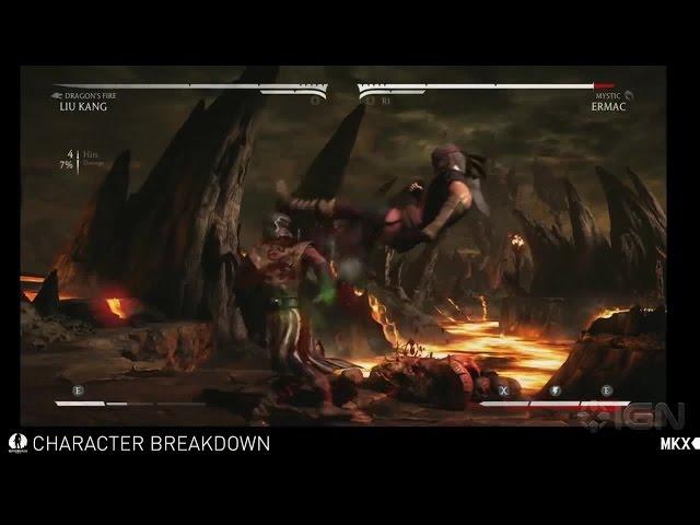 Mortal Kombat X - Liu Kang Variations
