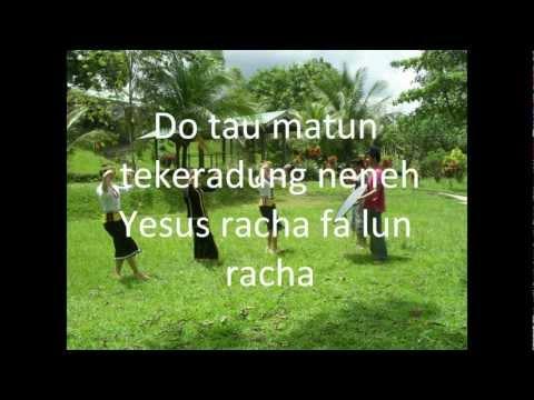 Lagu Rohani Kristen Terbaru 2012, Racha Fa Lun Racha,   Vocal By Dinsalee Singa, video