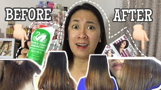 DIY VINEGAR & CREAMSILK HAIR TREATMENT | SHOOKT! | VLOG 128