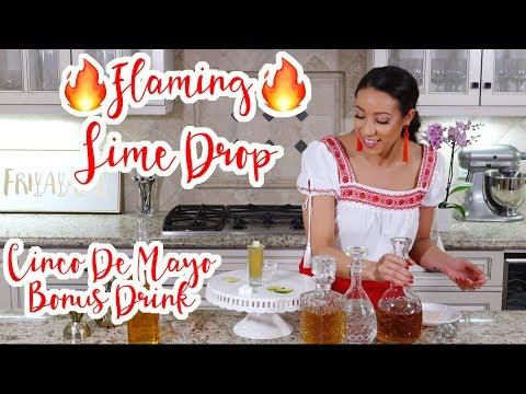 Liz Does Cocktails: Flaming Lime Drop Shot (CINCO DE MAYO BONUS DRINK!!!)