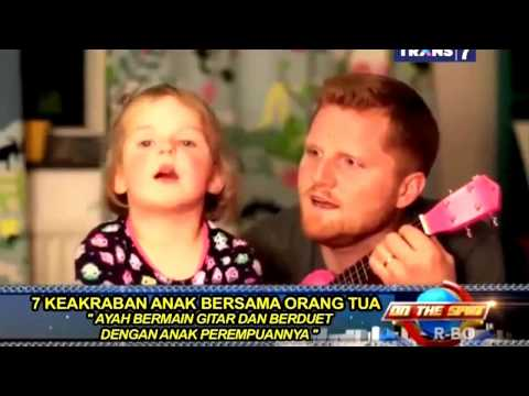 7 Video Lucu Anak Dan Ayahnya   On The Spot Trans 7 Terbaru 26 September 2014