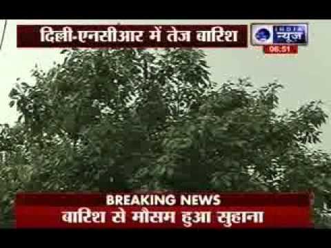 More rain in Delhi today