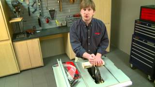 Handyman Club: Changing a Table Saw Blade