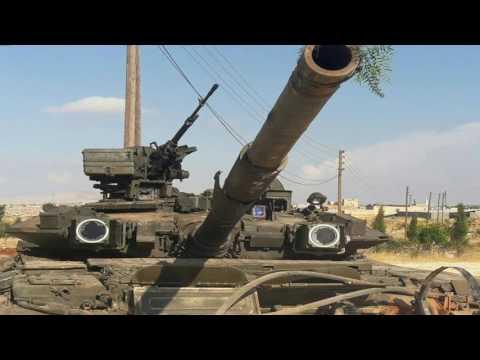 T-90 в Сирии, подбитые танки, КОЭП Штора