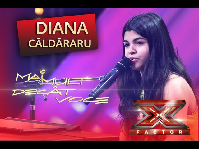 """John Legend - """"All of me"""". Interpretarea Dianei Căldăraru, la X Factor!"""