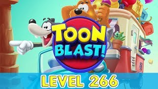 Toon Blast - Level 266 (No Boosters)