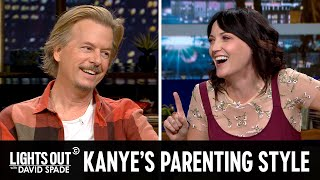 Kanye Doesn't Want North West Wearing Makeup (feat. Jen Kirkman) - Lights Out with David Spade