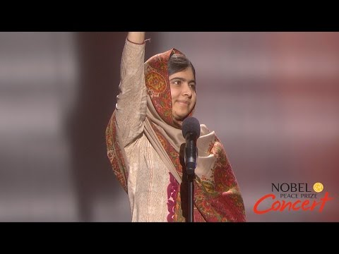 Malala Yousafzai - The right to learning should be given to any child