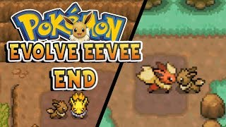 Pokemon Evolve Eevee FINALE WE ARE SUPREME Pokemon Fan Game Gameplay Walkthrough