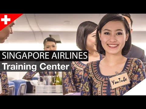 Singapore Airlines Training Center: Behind the Scenes | Singapur