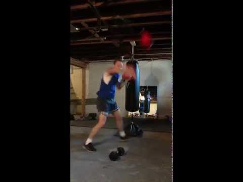 Double End Bag Training ... Boxing How To ... Bob the Boxer Image 1