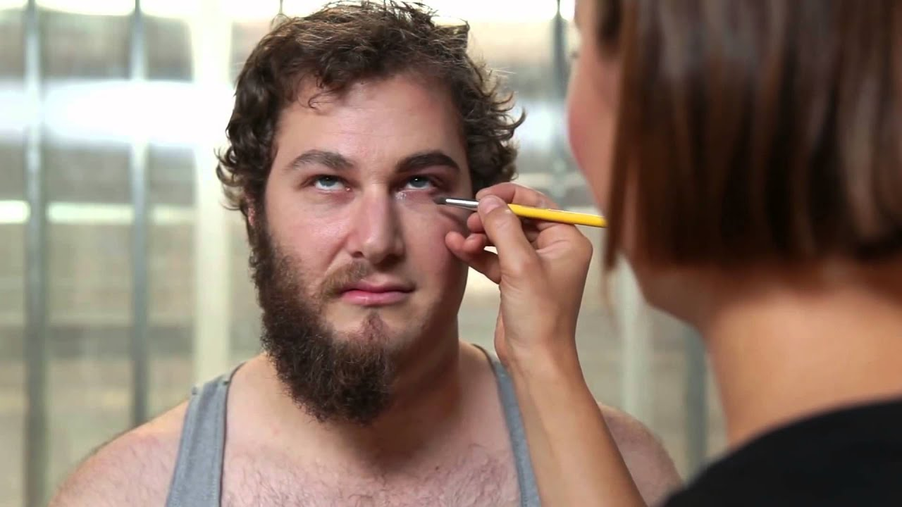 Men Try Women's Makeup For The