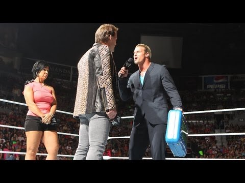 Chris Jericho disputes Dolph Ziggler's talent claims: Raw, July 16, 2012