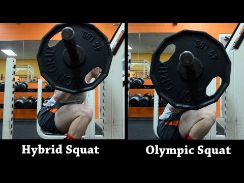 Hybrid Squat Tutorial (Hybrid vs Olympic Squat) Image 1