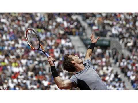 Andy Murray through to the French Open 2015 quarter-finals victory over Jeremy Chardy at