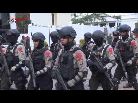 SIMULASI PENANGANAN TERORIS | KOMPAS NEWS ACEH 23/02/2016