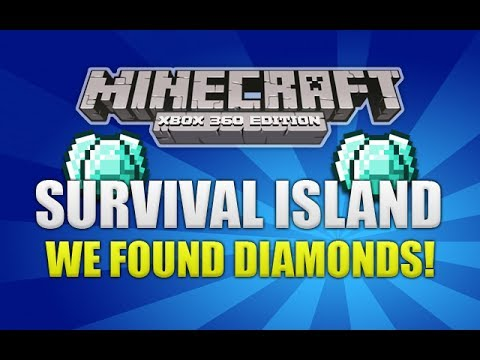 Minecraft Xbox 360 - Survival Island We Found Diamonds! (EP3)