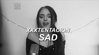 SAD! - xxxtentacion - Cover
