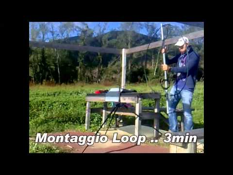Portable Antenna DX LOOP & QRP BAG by IK5XCT