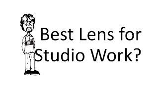 Ask David: Studio Work, What Lens?