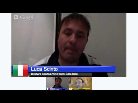 #hangoutScinto, video-intervista a Luca Scinto
